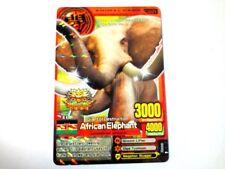 Animal Kaiser English Version Promo Card (A0031P: African Elephant)