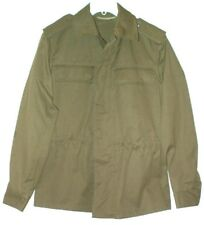 Zekon Michalovce Slovakia Army Jacket Size S Military Pockets On Back Olive
