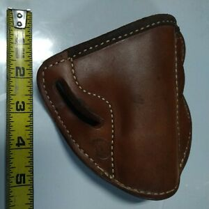 NOS-EL PASO SADDLERY LEATHER HOLSTER--FOR COLT COMMANDER-GREAT LOOK-RIGHT HANDED