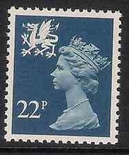 Wales 1981 W54 22p litho phosphorised paper perf. 14 type I Regional Machin MNH