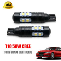 W5W T10 501 12V 50W CREE PROJECTOR LED PARKING CAR XENON BULBS