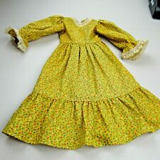 doll dress hand made prairie dress