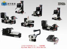 Zhouyu 60w High Power 8 In 1 Mini Metal Machine Diy Woodworking Model Tool Hobby