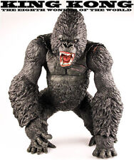 "New Large Size 14"" King Kong gorilla Skeleton island figure statue model"