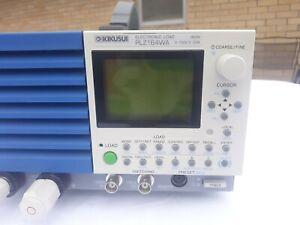 Kikusui PLZ164WA Electronic Load 0〜150V, 33A, 165W