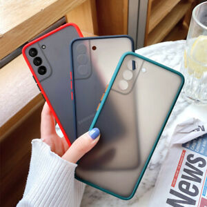 Case For Samsung Galaxy S21 Ultra S20 FE S10 S9/8 Shockproof Matte Acrylic Cover