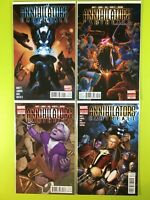 ANNIHILATORS EARTHFALL #1-4 ABNETT LANNING Marvel NM 9.4