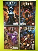 ANNIHILATORS EARTHFALL #1-4 ABNETT LANNING Marvel NM 9.4
