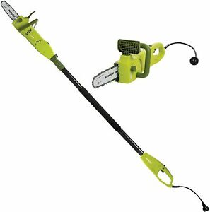 .5 Amp Electric Pole Chain Saw, 2-In-1 Convertible to Handheld Automatic New
