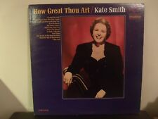 Kate Smith How Great Thou Art Gospel Music LP Album 1965
