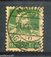 SUISSE, 1917-22, timbre 161, type GUILLAUME TELL, oblitéré