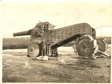 Italian Heavy Gun Howitzer 1917, World War 1, Reprint Photo 8x6 inch
