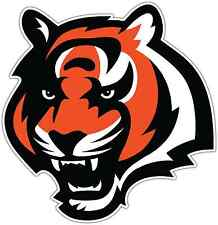 "Cincinnati Bengals NFL Football Bumper Locker Notebook Sticker Decal 4.5""X4.5"""