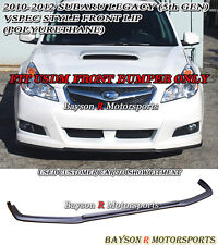 V-Limited Style Front Lip (Urethane) Fits 10-12 Legacy