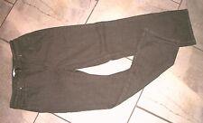 1016  Coldwater Creek Medium Brown Denim Straight Leg Jeans P 6 X 28