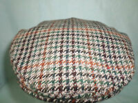 MENS TRADITIONAL COUNTRY WOOL FLAT CAP MADE IN ENGLAND SHOOTING FISHING HUNTING
