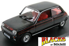 Edicola Models 1:43 Scale 1982 Renault 5 R5 Gordini Black Diecast Model Car