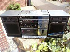 PHILIPS D8878 Stereo CD Radio Cassette Boombox Ghetto Blaster