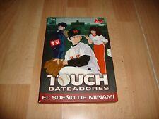 TOUCH BATEADORES ANIME MANGA EN DVD VOLUMEN 1 + CAJA DE CARTON EN BUEN ESTADO