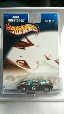 HOT WHEELS FORD GT 40 AUTO MILESTONES REAL RIDERS TIRES DIECAST 1:64