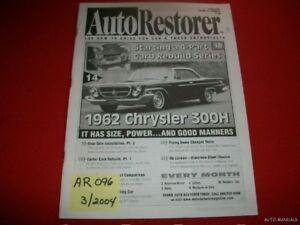 AUTO RESTORER - 1962 CHRYSLER 300H  3/04