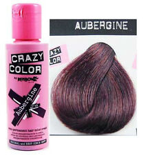 Renbow Crazy Color Semi Permanent Hair Color Cream Aubergine No.50 100ml