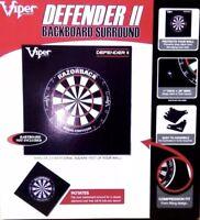 Viper DEFENDER 2 Dartboard Surround Steel Tip DARTS Wall Protector FREE Shipping