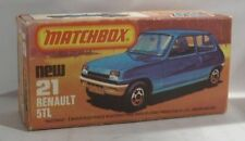 Repro Box Matchbox Superfast Nr.21 Renault 5 TL