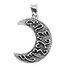Dryad Design Artemis Moon Pendant  Sterling Silver Lunar Goddess Pagan Wiccan