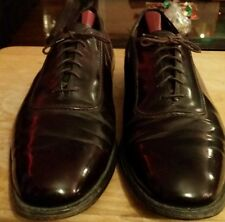 Mens Johnston and Murphy aristocrat burgundy shoes sz 11