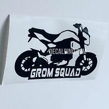 Grom Squad Decals - Stickers For Honda MSX125 graphics carbon fiber 19