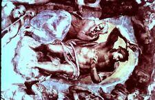Vintage 35mm Kodak Souvenir Slide Vatican Sistine Chapel Christ as Judge #53