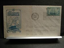 """Old Ironsides"" USS CONSTITUTION FDC #951 Naval Cover 1947 IOOR Cachet"