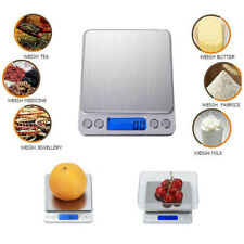 0.1g-3000g Kitchen Food Digital Scale Weighing Measuring Gram Accurate Scale