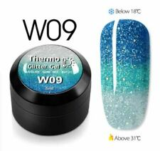 Nail Temperature Change Glitter Gel Polish Cool Thermal Magic Effect Color