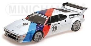 125792928 MINICHAMPS 1:12 BMW M1 Proker MOTORSPORT #28 Clay Regatoni 1979