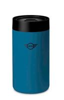 MINI Genuine Wing Logo Travel Insulated Tea Hook Lid Mug Cup 300ml Blue 2460910