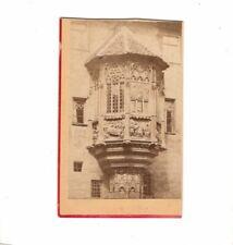 CDV Foto Erker am Pfarrhof in Nürnberg - 1881