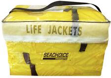SeaChoice Marine Boat Adult Sized Universal Life Jacket Vest 4-Pack w/ Bag 86010