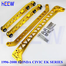 CONTROL ARM BILLET REAR SUBFRAME BRACE TIE BAR LCA FOR HONDA CIVIC 96-00 EK F7 M
