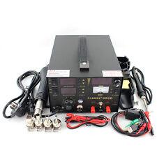 Saike Hot Air Gun Soldering Rework Station 220V EU Plug  909D 3 in 1 Iron Solder