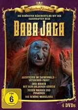 Die schönsten Märchenfilme mit der sagenhaften Hexe Baba Jaga - 4 DVD Box