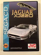 Jaguar XJ220 - Sega CD - Replacement Case - No Game