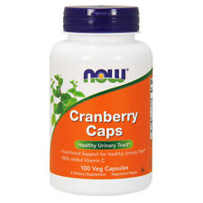 Cranberry Concentrate, 100 Capsules - NOW Foods