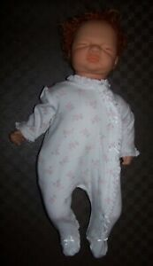 """2004 VAL SHELTON REBORN SLEEPING BABY DOLL FOR FURTHER WORK - 22"""""""
