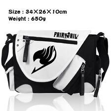Anime FAIRY TAIL Shoulder Messenger Bag Canvas Zipper Travel Bags Cosplay Gfit