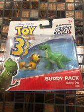 DISNEY PIXAR TOY STORY 3 ACTION LINKS BUDDY PACK Slinky Dog Rex
