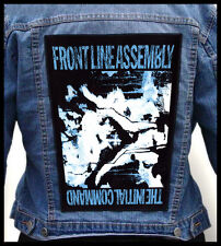 FRONT LINE ASSEMBLY - The Initial Command --- Giant Backpatch Back Patch