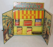 ANTIQUE Tin Grocery Store Toy WOLVERINE