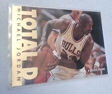 1995-96 Fleer Total D Insert Michael Jordan #3 Chicago Bulls Mint